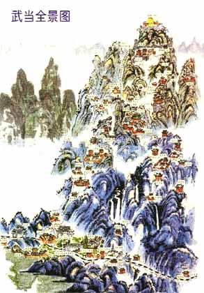 Complejo de templos en las montañas de Wudang