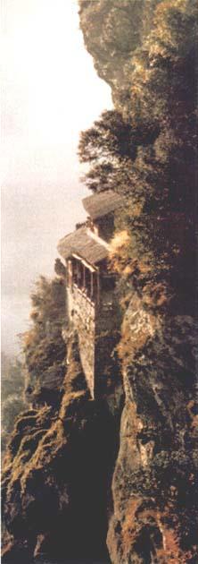 Palacio colgante de Nan Yan en el Pico del Dragón