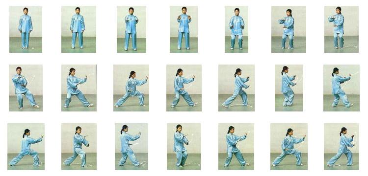 Secuencia simplificada de 24 movimientos de Taijiquan